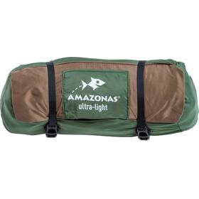 Amazonas Moskito-Adventure Thermo Hamak zielony/brązowy
